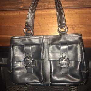 Coach laptop bag/purse